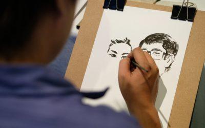 Dessin caricature et dessin de presse