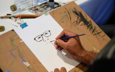 Cours de dessin, personnages rigolos, caricatures